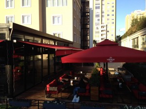 Cafe Restoran Şemsiyeleri
